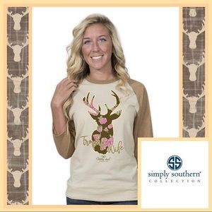 🦌 Simply Southern Trophy Wife Shirt 🦌
